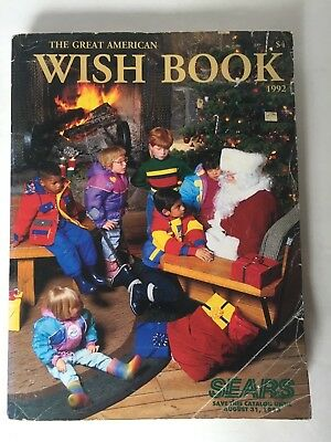 1992 Sears Great American Wish Book Christmas Catalog Toys Barbie Playmobil