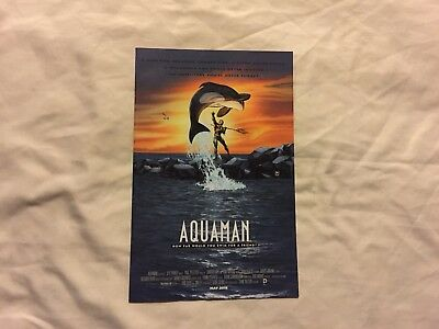 Aquaman # 40B ( 2011 5th Series ) Movie Poster Variant NM / VF