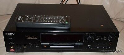 Sony Mds-Jb930 Qs High-End Minidisc Recorder & Player Hi Fi Separate Remote