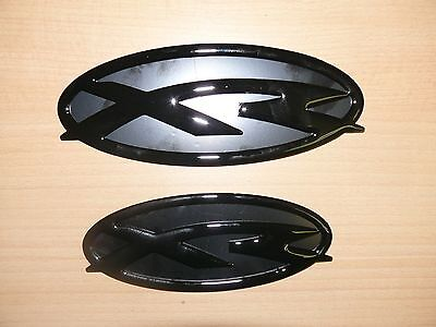 Ford Falcon FG XR6 XR8 Grille and Boot badges to 2014 - all Black