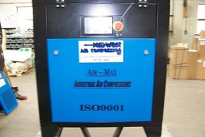 Air-Max 7.5 hp.Industrial  Rotary Screw Air Compressor  12 Year Warranty !!
