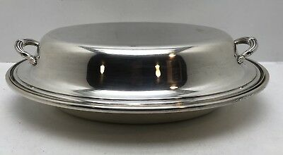Gorham Sterling Silver Covered Serving Dish Bowl Casserole Lid Not Scrap!!