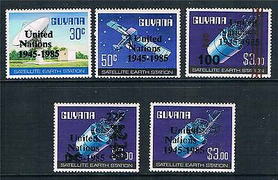 Guyana 1985 United Nations SG 1602/6 MNH