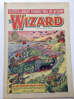DC Thompson. THE WIZARD Comic September 30th 1961. Issue 1859 *FREE UK POSTAGE*