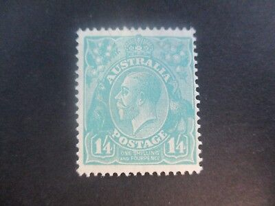 KGV Stamps: 1'4d Turquoise SMW Mint - great item  (a144)