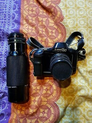 Canon T90 Camera Body and Lenses