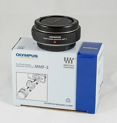 Olympus MMF-3 Adapter For Four Thirds to Micro Four Thirds