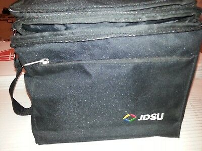 JDSU OLP-82 FBP-HD4i/HD4iP Fiberscope carrying case, manuals