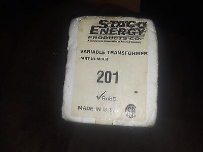STACO VARIABLE TRANSFORMER 201 Unused/New condition
