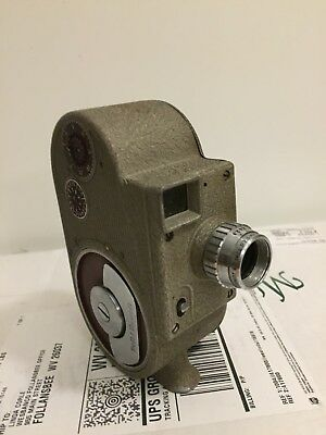Vintage Bell And Howell 8 mm Movie Camera Model 134 UNTESTED