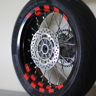 Wheel Graphics fits DRZ400SM, Suzuki, KTM 690, CBR, FZ07, MT-07, FZ-09