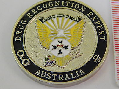 Queensland Police Drug Recognition Expert Challenge Coin Rare
