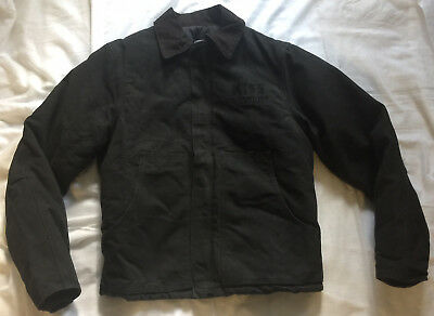 Kiss - Farewell 2000 Tour Crew Carhartt Jacket-Rare! Last Jacket! Black On Black