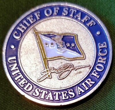 """Awesome 1.5"""" USAF Air Force Challenge Coin Chief of Staff Global Vigilance"""