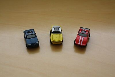Galoob Micro Machines 1990 Private Eyes #5 Collection Full Set