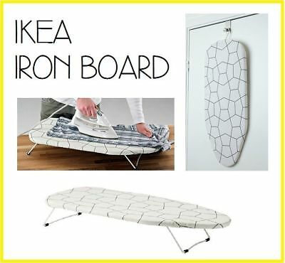 Ikea Mini Iron Board With Hook Portable Table Top Clothes