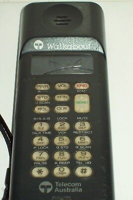 Telecom Walkabout Vintage Mobile phone  . No battery 1987