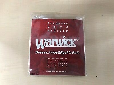 WARWICK Warwick electric bass string 5 string set nickel plating 46301 Medium Lo