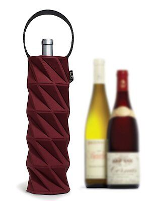 BUILT NY Origami Wine Tote, Bordeaux