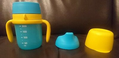 Tupperware grow with me sippy cup - Used