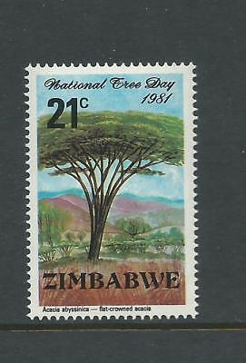 1981 National Tree Day 21 cent only complete MUH/MNH as Issued