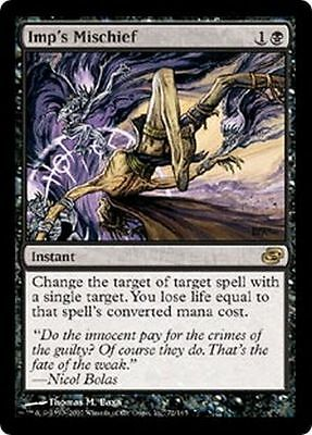 Mtg Magic The Gathering - Imp's Mischief - Planar Chaos Mint!