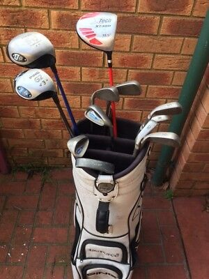 Set Of Ping Golf Clubs And Bag