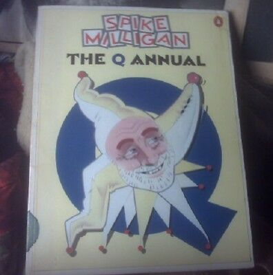 SPIKE MILLIGAN rare softbound  book,THE Q ANNUAL