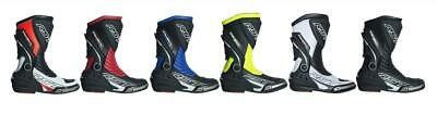 RST 2101 Tractech Evo III 3 Sport CE Motorcycle Race Boots Latest Model