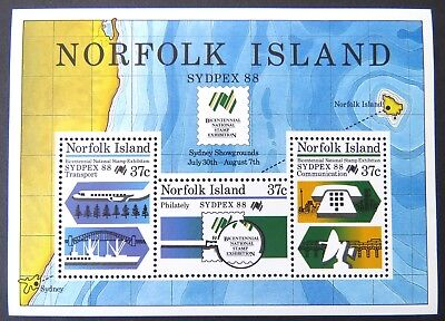 1988 Norfolk Island Stamps - Sydpex '88 - Mini Sheet MNH
