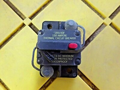 Blue Sea Systems 185030F  30 Amp Circuit Breaker OFF//Trip  42 VDC Max