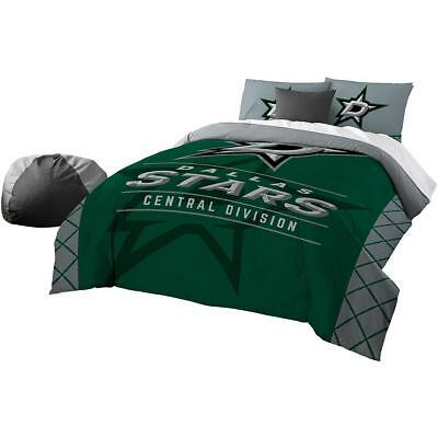 The Northwest Company Dallas Stars Draft Full/queen Comforter & Sham Set