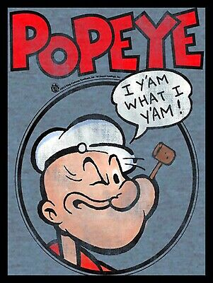 Popeye, Retro Metal Plaque/Sign, Man Cave, Bar/Pub Novelty Gift