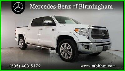 2015 Toyota Tundra 1794 Edition Extended Crew Cab Pickup 4-Door 2015 Used 5.7L V8 32V Automatic 4WD Pickup Truck Premium Moonroof