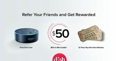 Dish Network Coupon Get 100.00 Credit. Lot of extras VCD0020035551 VCD0020035569