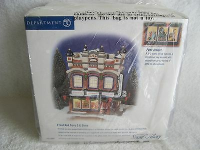 DEPT 56 - SV - FROST AND SONS 5 & DIME - NEW - 3D Scene - Factory Wrap