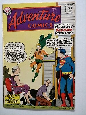 Adventure Comics  #260  1959 1St Silver Age Origin Of Aquaman