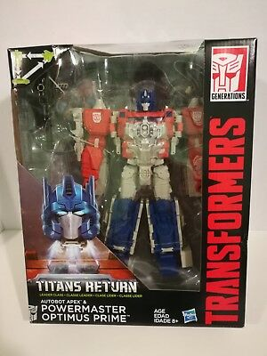 Transformers Titans Return Powermaster Power Master Optimus Prime leader MISB