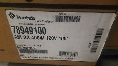 Pentair Pool 78949100 Amerlite 120V, 400W, 100' Cord Stainless Steel Face * NEW