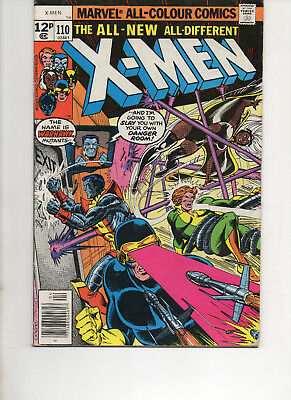 X-Men 110 Very Fine 1978 Marvel Bronze Age Comic