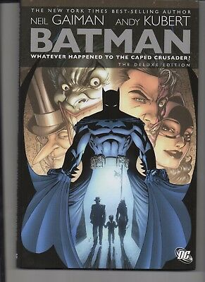 "Batman ""Whatever Happened The Caped Crusader"" Near Mint 2009 First Print Dc Delu"