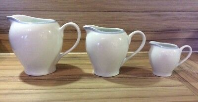 Mary Berry Collection Vintage Goose Set Of 3 Serving Jugs-Large, Medium & Small