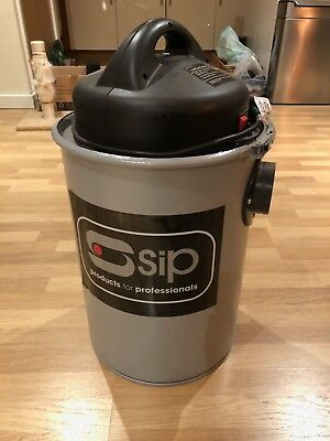 SIP 50 Litre Dust & Chip Collector. 1.5 HP, comes with hoses and fittings.