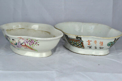 2  Porcelain bowls - China - 19th /20th century