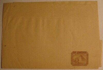 Egypt: Early Newspaper Wrapper, Envelopes & Postcards; mint & used.