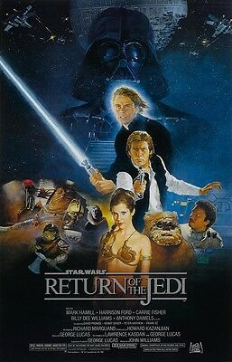 "Star Wars movie poster - Return Of The Jedi poster 11"" x 17""  Star Wars poster"