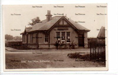 POSTCARD Stirlingshire Post Office Bothkennar Carronshore Grangemouth