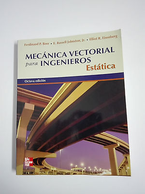 BOOK CLOCKWORK VECTOR FOR ENGINEERS Static 8ª Edition Spanish McGraw Hill