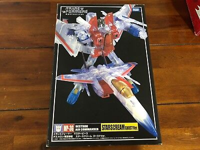 Transformers Masterpiece MP-36 Ghost Starscream MISB MP36 !!FREE P&P!!
