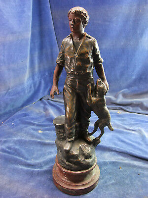 19th C French Spelter Figurine [8012]